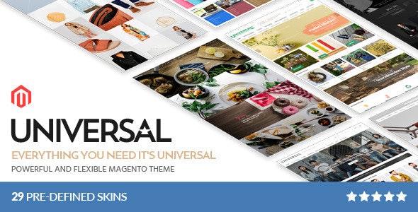 Universal - Multi-Purpose Responsive Magento 2.4.0 Theme - Site Templates