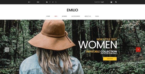 Emilio - Ecommerce PSD Template
