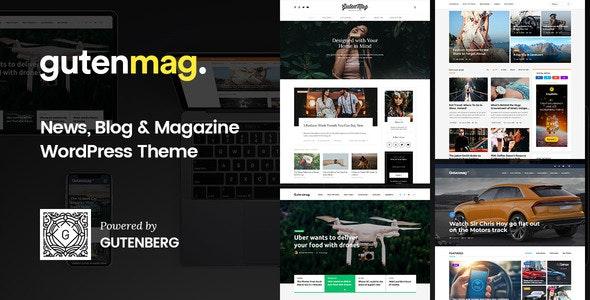 GutenMag - Newspaper, Magazine Theme - Blog / Magazine WordPress