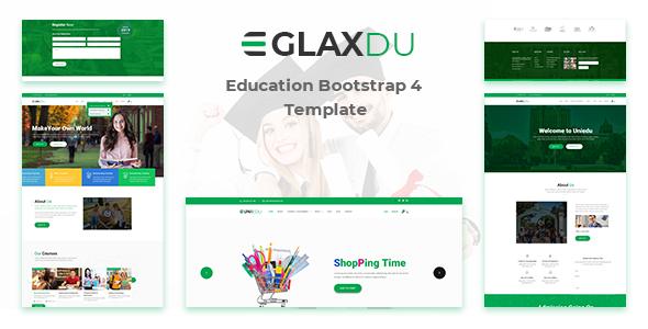 Glaxdu - Education HTML Template - Charity Nonprofit
