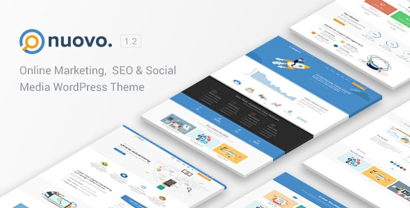 Nuovo - Social Media, Digital Marketing Agency, SEO WordPress Theme - Marketing Corporate