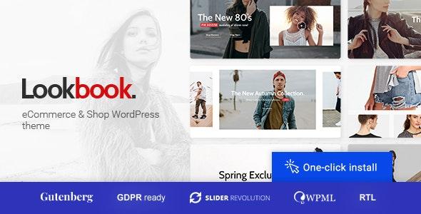 Lookbook - Fashion Store & Clothing Woocommerce Theme - WooCommerce eCommerce