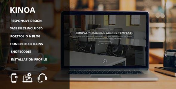 Kinoa - Drupal 7 responsive theme