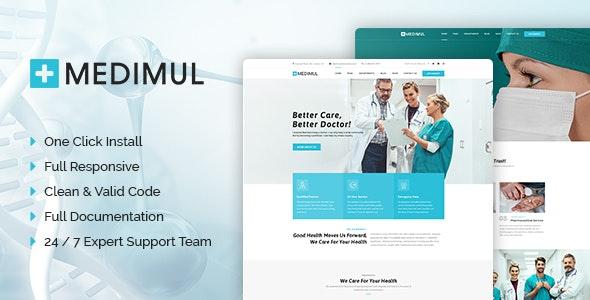Medimul - Multi-Purpose Medical Health WordPress Theme - Health & Beauty Retail