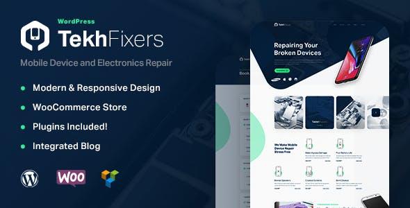 TekhFixers - Mobile Device Repair WordPress Theme
