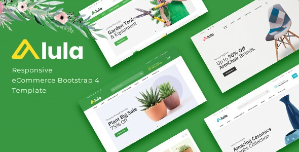 Alula - Multipurpose eCommerce HTML Template - Shopping Retail