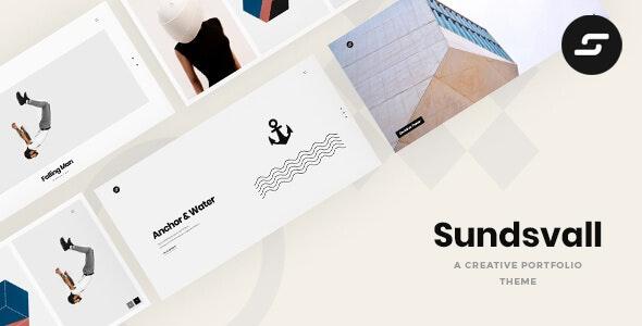 Sundsvall - Ajax Based Portfolio Theme - Creative WordPress