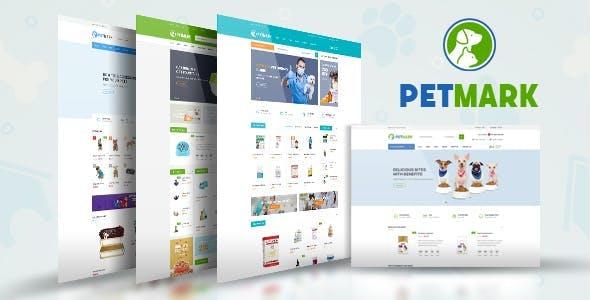 Petmark - Pet Food Shop HTML Template
