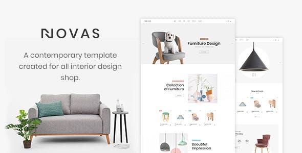 Novas   Furniture Store and Handmade Shop HTML5 Template