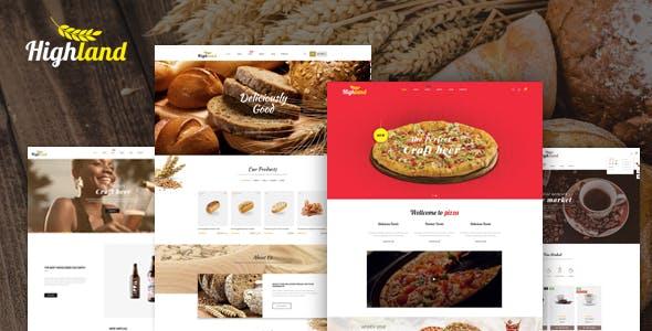 Bos Highlands -  Prestashop 1.7.6 Theme for Food & Drink Shop