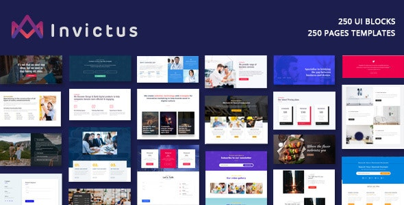 Invictus - Creative MultiPurpose WordPress Theme - Creative WordPress