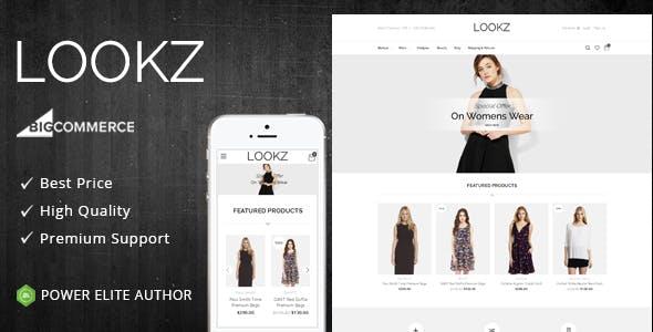 Lookz - Multipurpose Stencil BigCommerce Theme