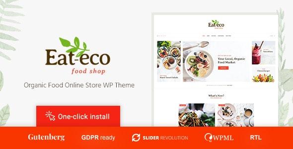 Eat Eco - Healthy & Organic Food Shop WooCommerce Theme - WooCommerce eCommerce