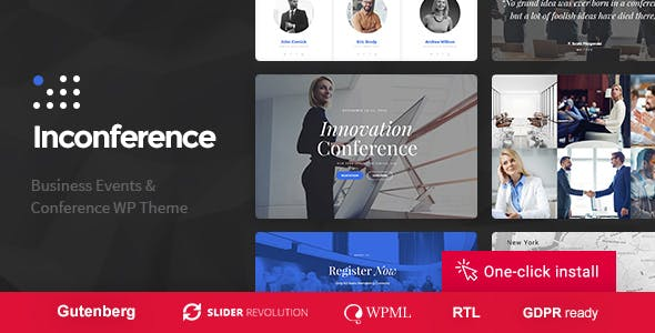 In Conference - Meetup & Business Event WordPress Theme