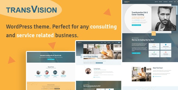 TransVision - Life Coaching & Consulting Theme - Business Corporate