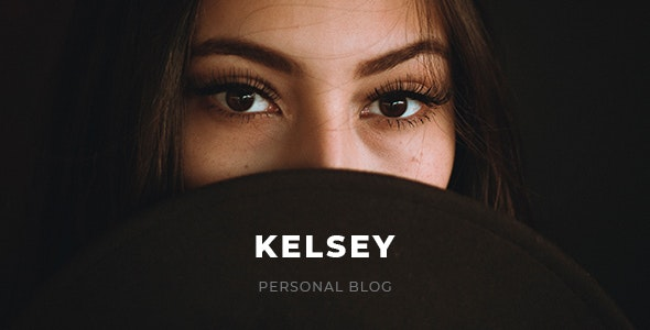 Kelsey - Blog PSD Template - Personal Photoshop