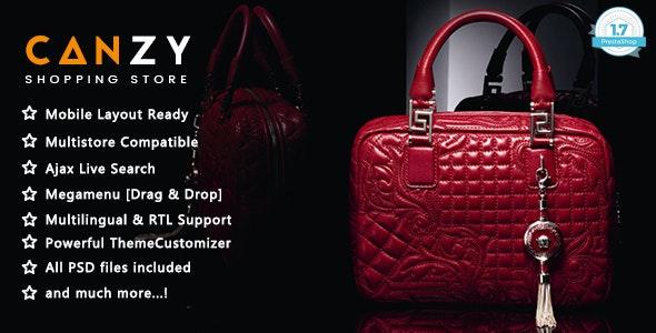 Canzy - Shopping Handbags and Clothes PrestaShop 1.7 Theme - Shopping PrestaShop