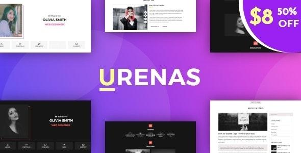 Urenas || Portfolio HTML Template - Portfolio Creative
