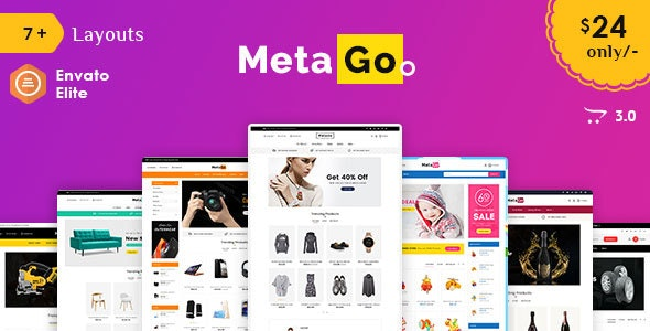Meta Go - Opencart Multi-Purpose Responsive Theme - Shopping OpenCart