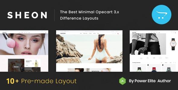 Sheon - Multipurpose OpenCart 3 Theme