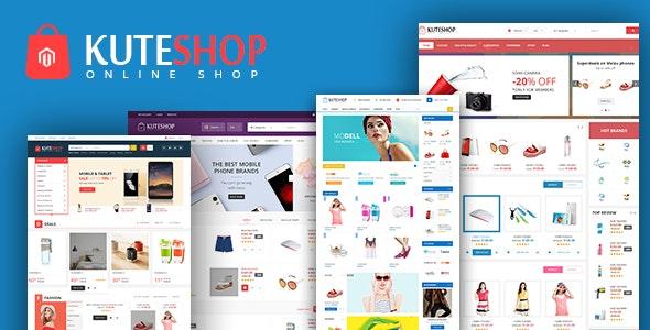 KuteShop -  Market Responsive WooComerce WordPress Theme - WooCommerce eCommerce