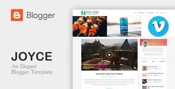 Joyce - Clean Responsive Blogger Theme - Blogger Blogging