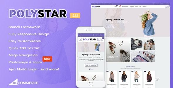 Polystar - Responsive BigCommerce Theme - BigCommerce eCommerce