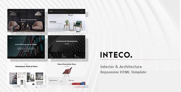 Inteco - Interior & Architecture HTML Template - Corporate Site Templates