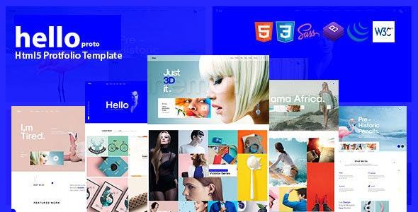 Hello Porto - Portfolio HTML Template - Portfolio Creative