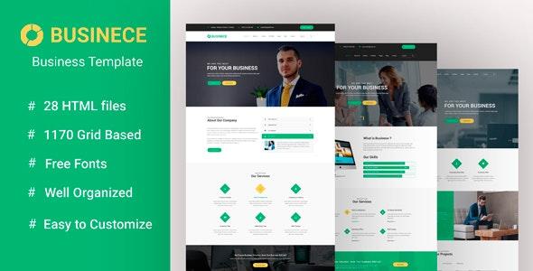 Businece -Business Multipurpose and Corporate Template - Corporate Site Templates