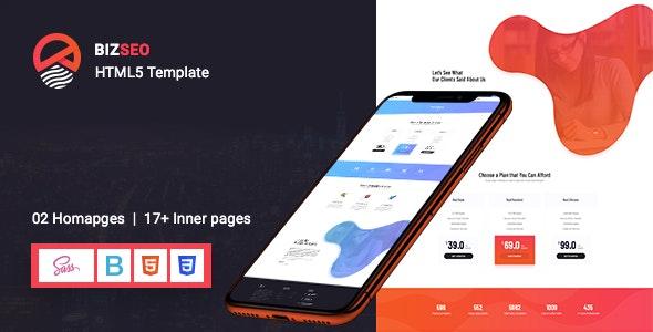 BIZSEO - Creative SEO HTML5 Template - Technology Site Templates