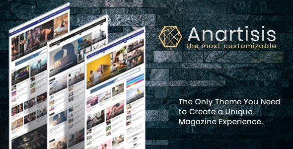 Anartisis - News & Magazine Blogger Theme - Blogger Blogging