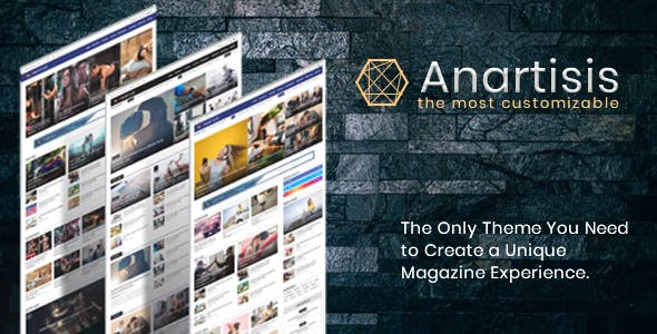 Download Anartisis - News & Magazine Blogger Theme