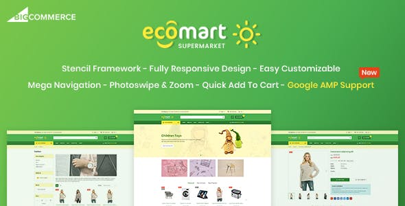 EcoMart - Responsive BigCommerce Theme