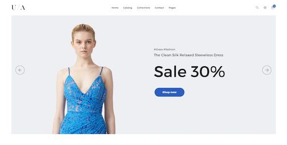 Ula – eCommerce PSD Template