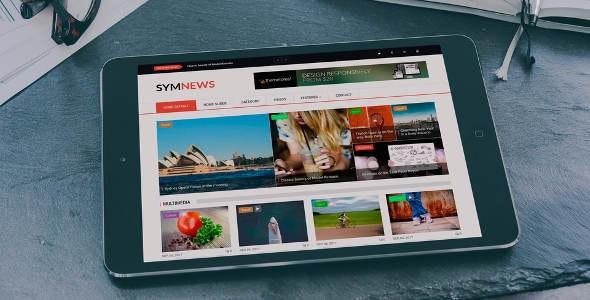 SymNews - News & Magazine Drupal 9 Theme - News / Editorial Blog / Magazine