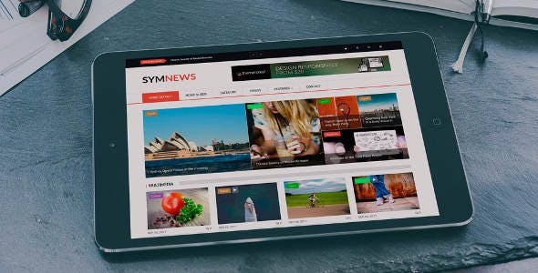 SymNews - News & Magazine Drupal 9 Theme by symphonythemes