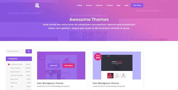Themli - Themes Portfolio Shop