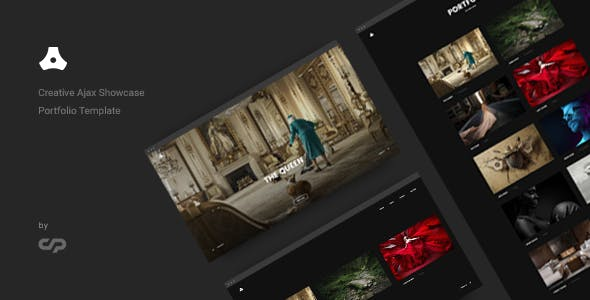 Satelite - Creative Ajax Portfolio Showcase Slider Template