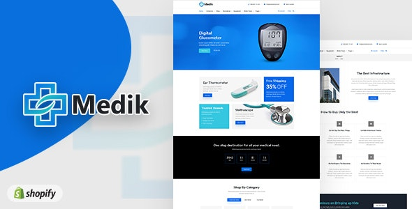 Medik | Medical Shopify Theme - Technology Shopify