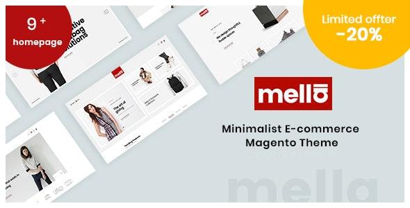 Mella - Minimalist eCommerce Magento 2 Theme - Magento eCommerce