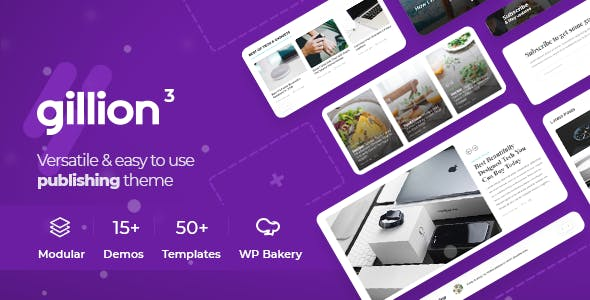 Gillion | Multi-Concept Blog/Magazine & Shop WordPress Theme