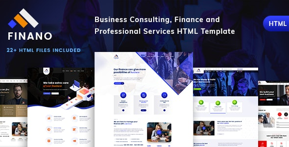 Consulting Finance - Business Corporate