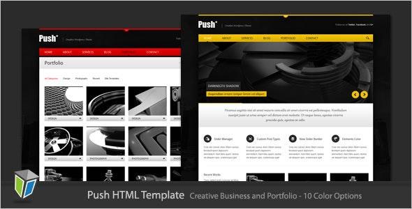 Push - Business and Portfolio HTML Template - Portfolio Creative