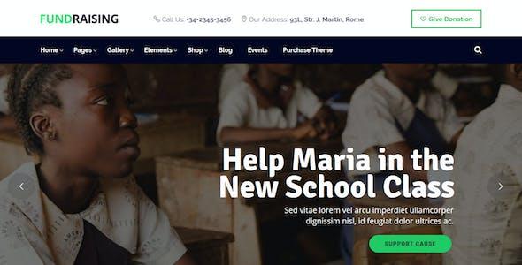 Fundraising - Charity/Donations WordPress Theme