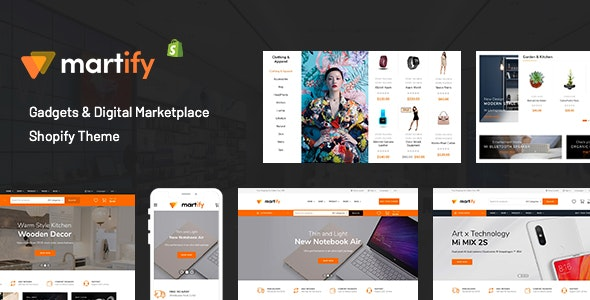 Martify - Gadgets & Digital Marketplace Shopify Theme - Fashion Shopify