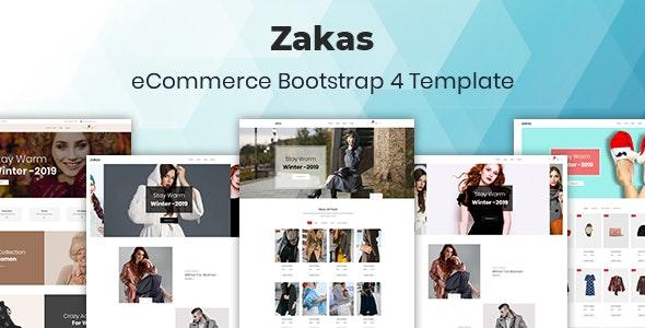 Zakas - Fashion HTML Template - Fashion Retail