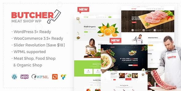 Butcher - Meat Shop WooCommerce WordPress Theme - WooCommerce eCommerce