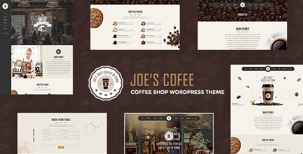 JoeCoffee - A WordPress Theme for Coffee Shops and Bars nulled theme download