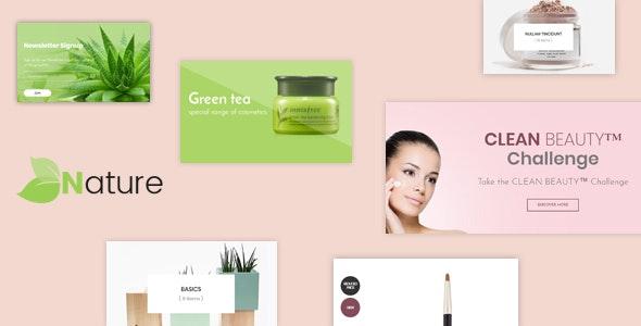Bos Nature - Skin Care and Beauty Spa Prestashop Theme - Health & Beauty PrestaShop
